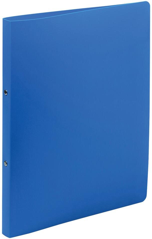 Exacompta ringmap ondoorschijnend, ft A4, 2 ringen van 1,5 cm, blauw