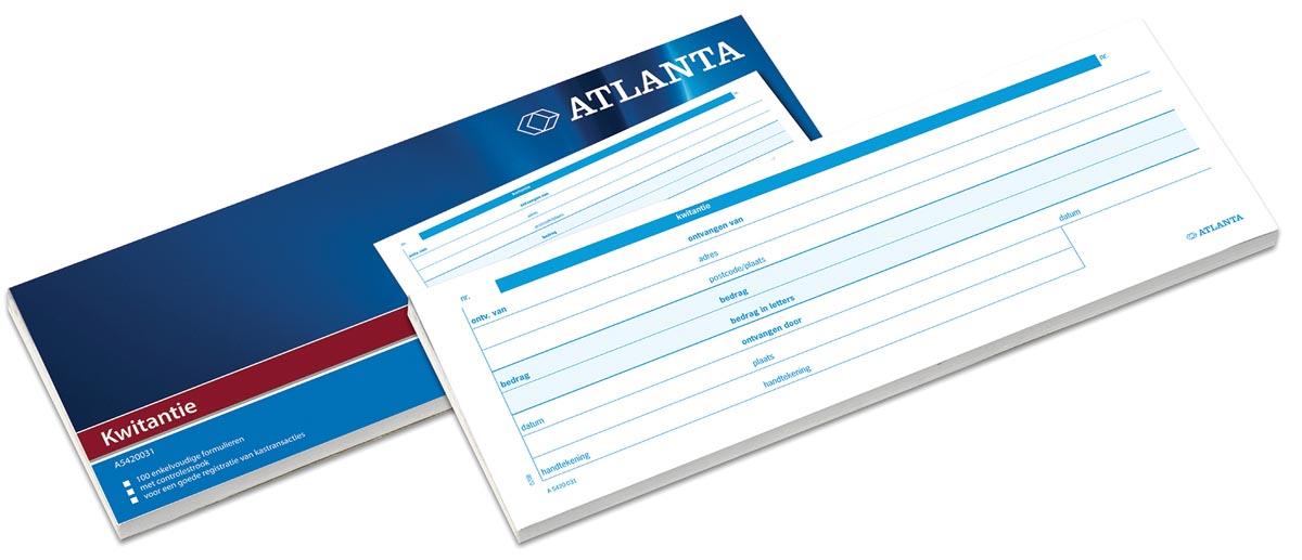 Atlanta by Jalema kwitantieblok ft 7,4 x 21 cm