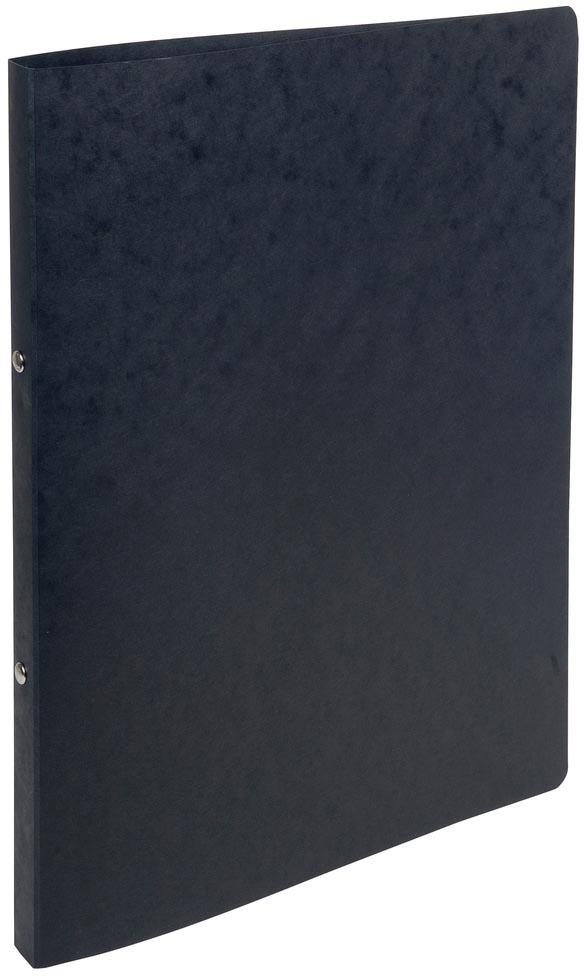 Exacompta ringmap in glanskarton, ft A4, 2 ringen van 1,5 cm, zwart