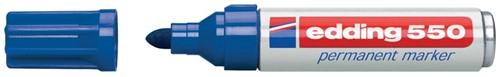 Edding permanente marker e-550 blauw