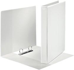 Esselte personaliseerbare ringmap, ft A4 maxi, 2D ringen van 25 mm, wit