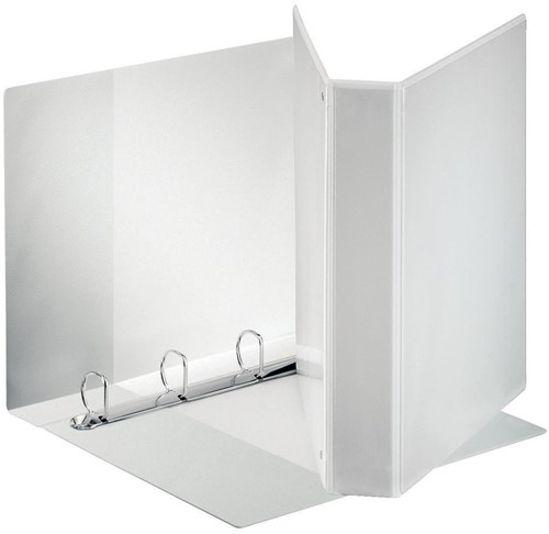 esselte personaliseerbare ringmap pp voor ft a4 maxi rug van 6 3 cm 4 d ringen van 40 mm wit. Black Bedroom Furniture Sets. Home Design Ideas