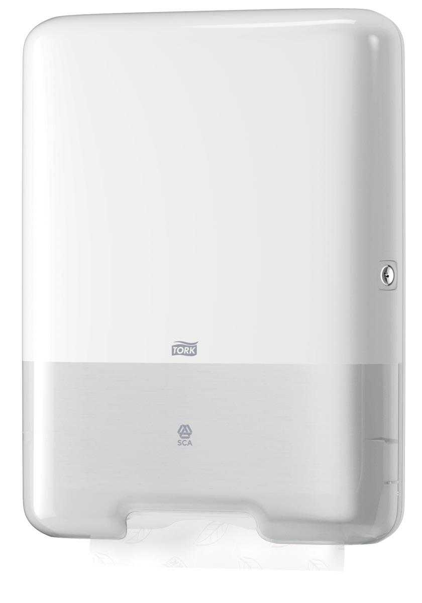 Tork handdoekdispenser C/Z-vouw, systeem H3, wit