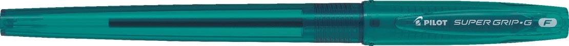 Pilot balpen Super Grip G stick Neon fijn blauwgroen