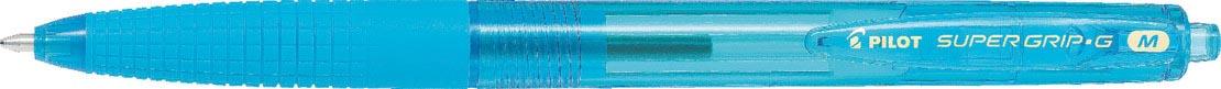 Pilot balpen Super Grip G retractable Neon medium turkoois