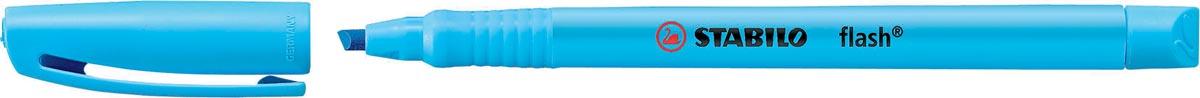 STABILO flash markeerstift, blauw