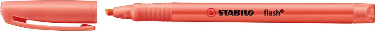 Stabilo markeerstift Flash, rood