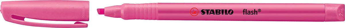 Stabilo markeerstift Flash, roze
