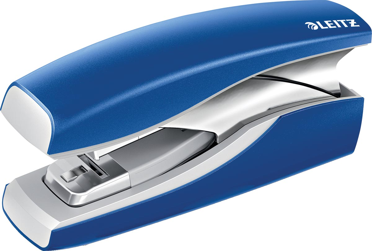 Leitz New NeXXt Softpress Flat Clinch nietmachine blauw