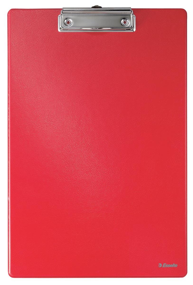 Esselte klemplaat voor ft A4 PP, rood