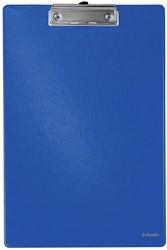 Esselte klemplaat voor ft A4, PP, blauw