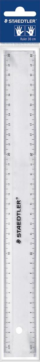 Staedtler meetlat transparant 30 cm