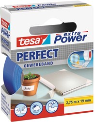 Tesa extra Power Perfect, ft 19 mm x 2,75 m, blauw
