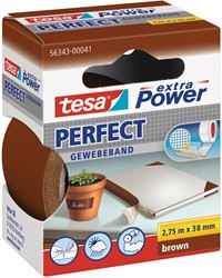 Tesa extra Power Perfect, ft 38 mm x 2,75 m, bruin