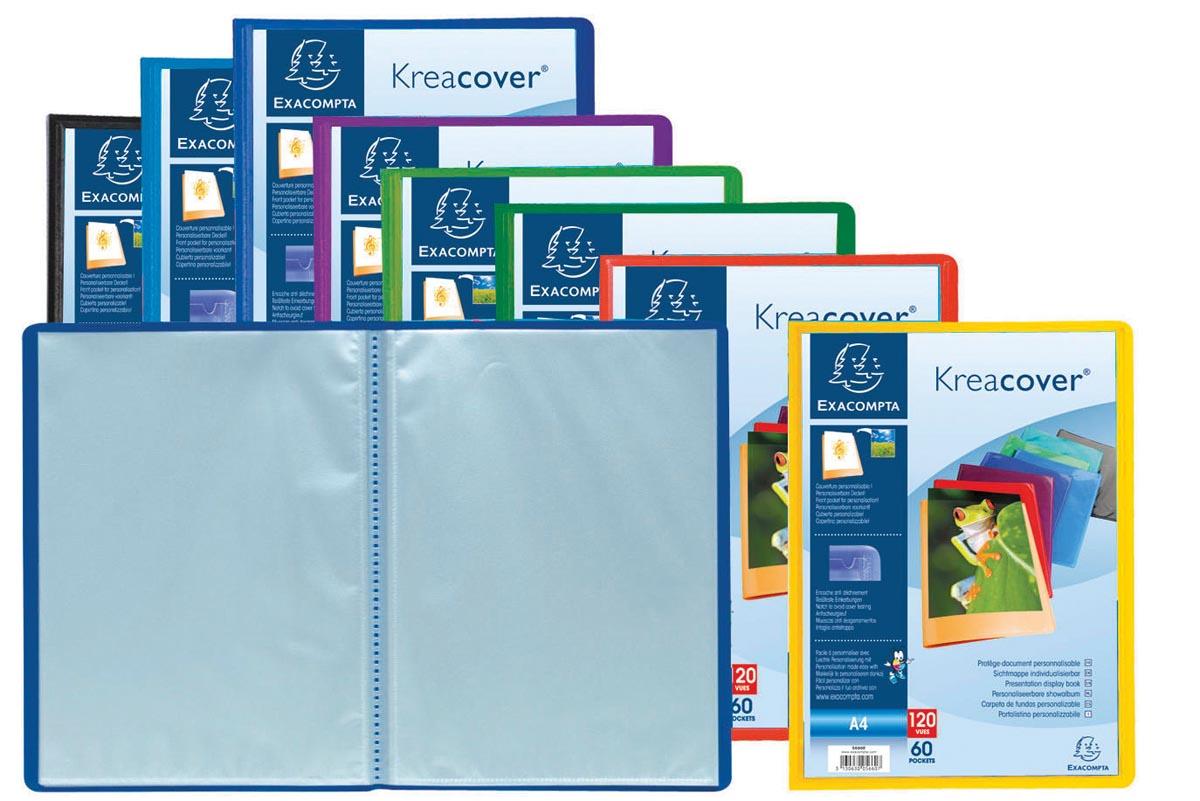 Kreacover Exacompta showalbum A4 60 tassen