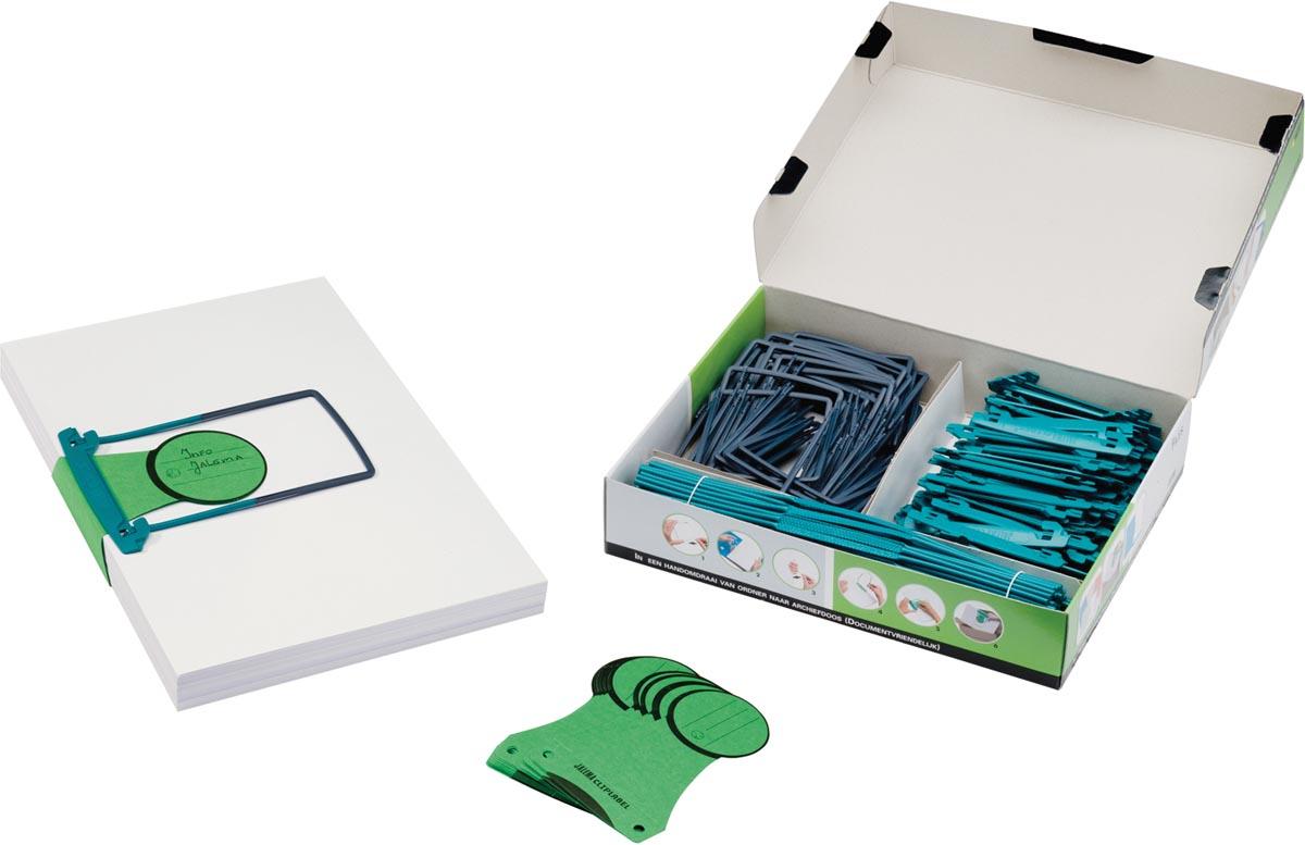 Jalema Clip starterkit, doos van 100 stuks