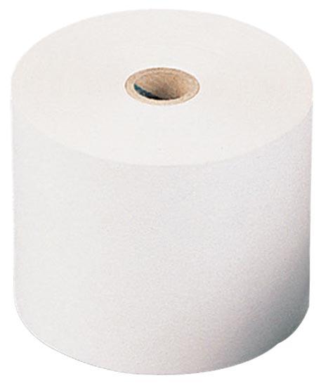 Thermische rekenrol ft 57 mm, diameter +-28 mm, asgat 8 mm, lengte 11 meter, pak van 5 rol, BPA vrij