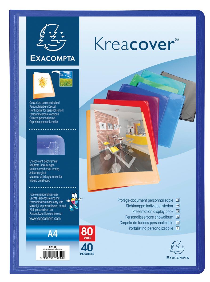 Exacompta showalbum Kreacover 40 tassen