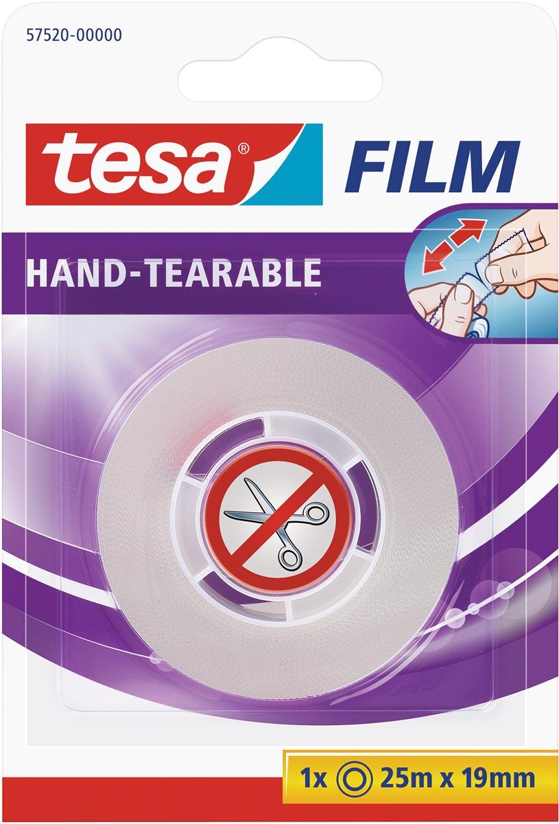 Tesafilm Hand-tearable, ft 25 m x 19 mm