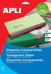 Apli Transparante etiketten