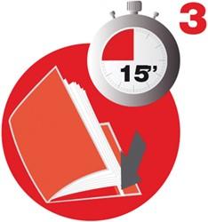 Apli Verstelbare boekomslag, voor ft A4, blister van 3 stuks