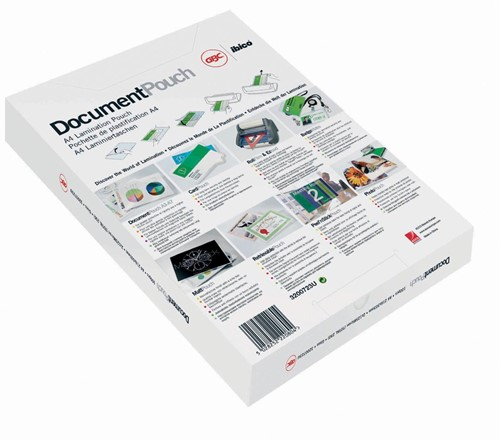 GBC Document lamineerhoes ft A4, 160 micron (2 x 80 micron), pak van 100 stuks