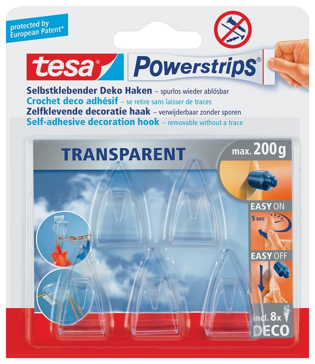 Powerstrips Deco Transparant TESA POWERSTRIPS TESA
