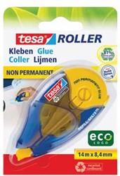 Tesa lijmroller Eco roller niet-permanent