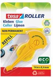 Tesa lijmroller Eco vulling niet-permanent