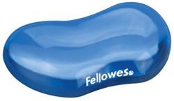 Fellowes Crystals Gel polssteun, blauw