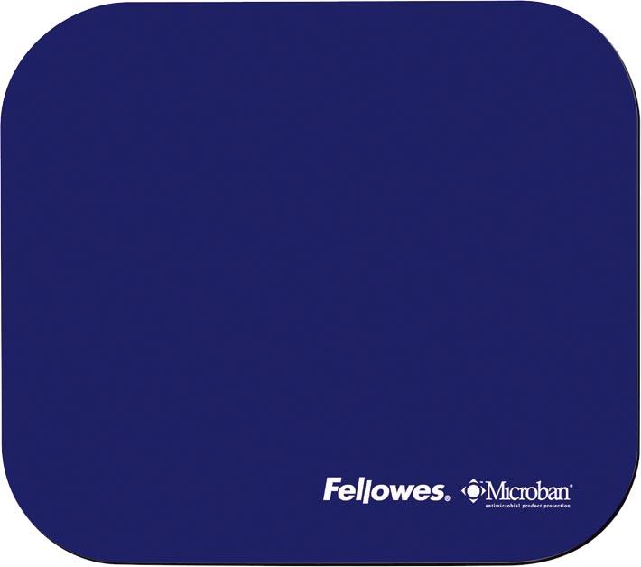 Fellowes muismat Microban, blauw