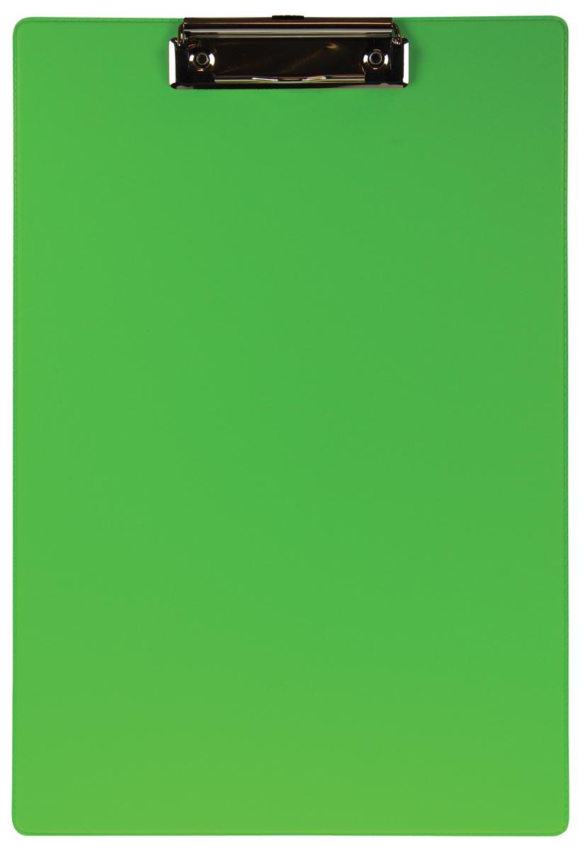 5 Star klemmap voor ft folio/A4, neongroen