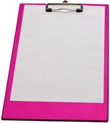 5 Star klemmap voor ft folio/A4, neonroze