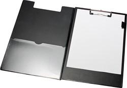 5 Star klemplaat dubbel voor ft A5, zwart