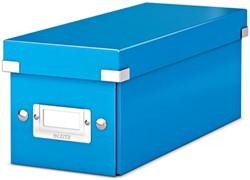 Leitz WOW opbergdoos CD Click & Store, blauw