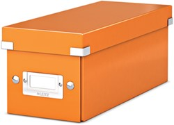 Leitz WOW opbergdoos CD Click & Store, oranje