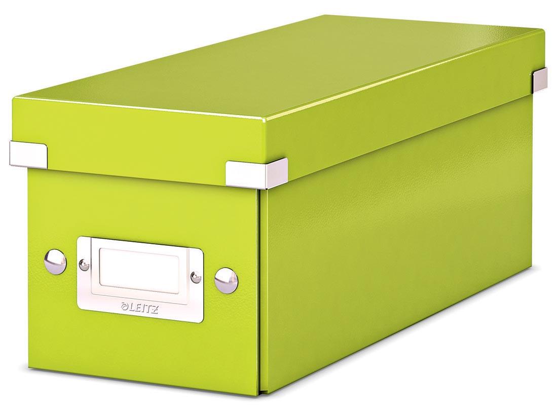Leitz WOW opbergdoos CD Click & Store, groen