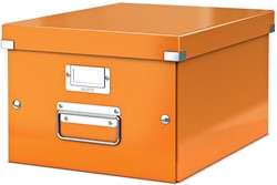 Leitz WOW opbergdoos Click & Store, ft A4, oranje