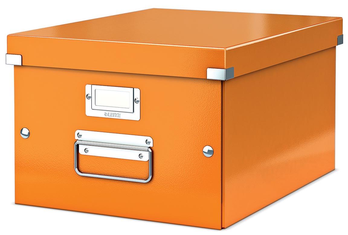 Leitz WOW opbergdoos Click & Store, ft A4, oranje