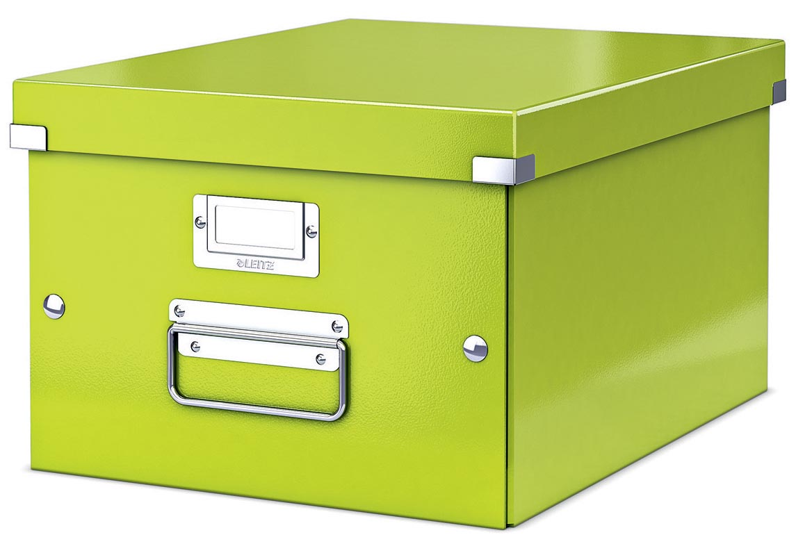 Leitz WOW opbergdoos Click & Store, ft A4, groen
