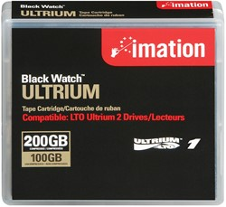 Imation datacartridge LTO Ultrium LTO 1 Ultrium, capaciteit: 100 / 200 GB