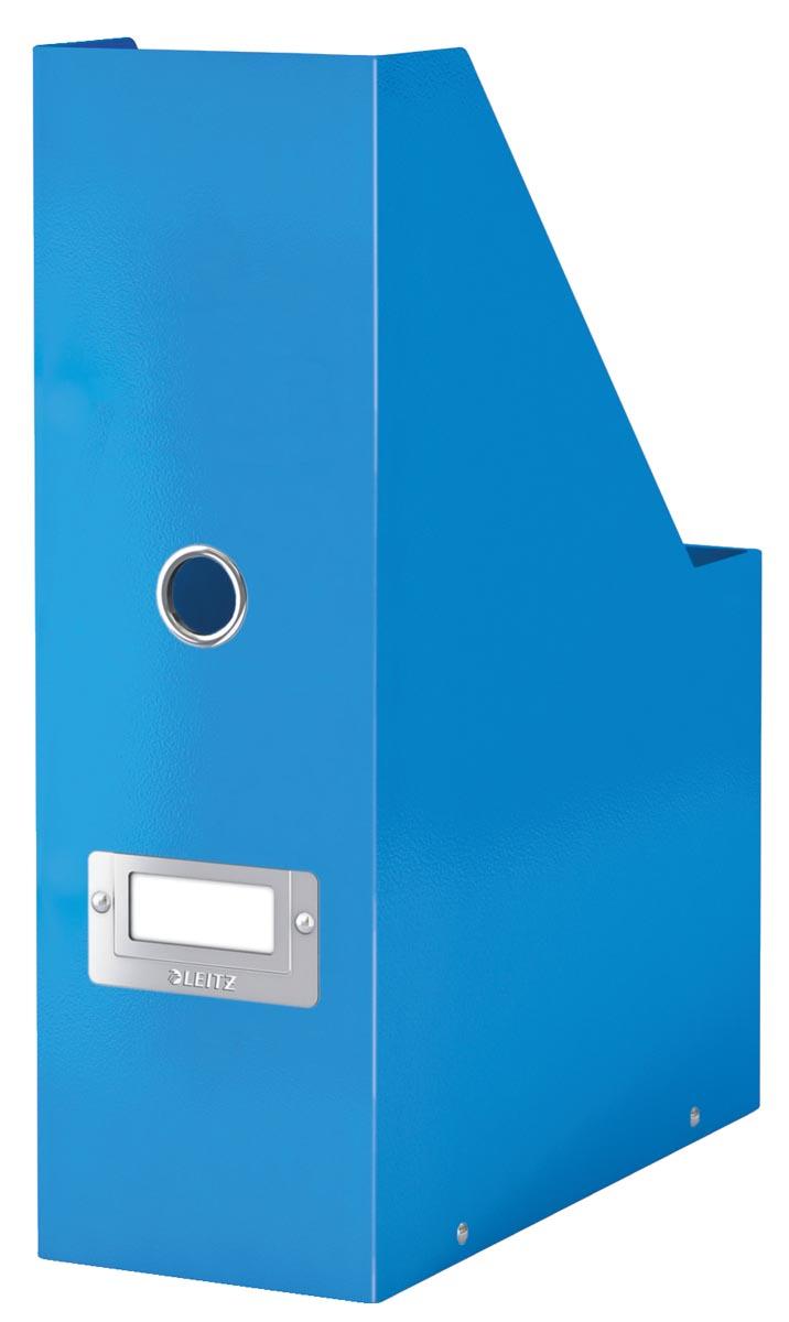 Leitz tijdschriftenhouder Wow Click & Store blauw