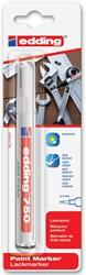 Edding Paint Marker e-750 wit, op blister