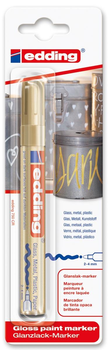 Edding Paint Marker e-750 goud