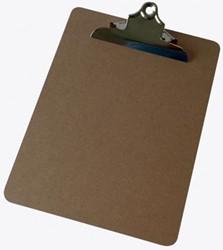 5 Star Klemplaat in hout, ft A4,met krachtige klem van 145 mm