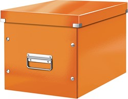 Leitz Click & Store kubus grote opbergdoos, oranje