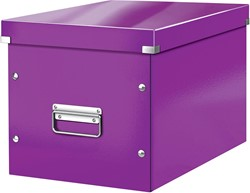 Leitz Click & Store kubus grote opbergdoos, paars