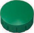 Maul magneet MAULsolid, diameter 15 x 7 mm, groen, doos met 10 stuks