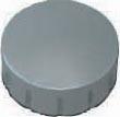 Maul magneet MAULsolid, diameter 15 x 7 mm, grijs, doos met 10 stuks