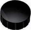 Maul magneet MAULsolid, diameter 15 x 7 mm, zwart, doos met 10 stuks